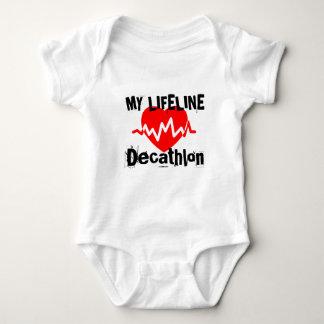 My Life Line Decathlon Sports Designs Baby Bodysuit