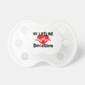 My Life Line Decathlon Sports Designs Pacifier