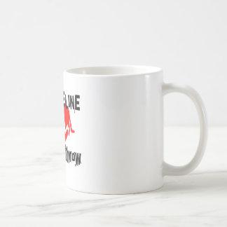 My Life Line Discus throw Sports Designs Coffee Mug
