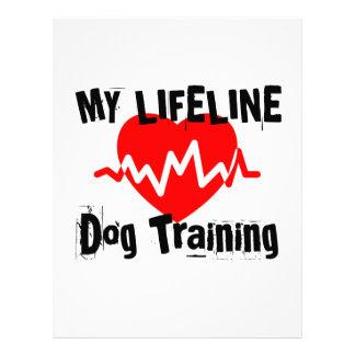 My Life Line Dog Training Sports Designs Letterhead