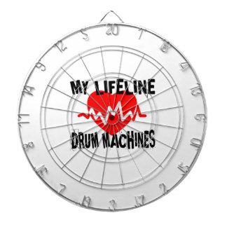 MY LIFE LINE DRUM MACHINES MUSIC DESIGNS DARTBOARD