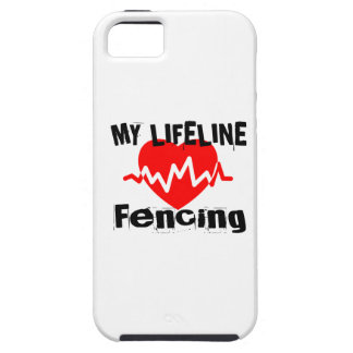 My Life Line Fencing Sports Designs Case For The iPhone 5