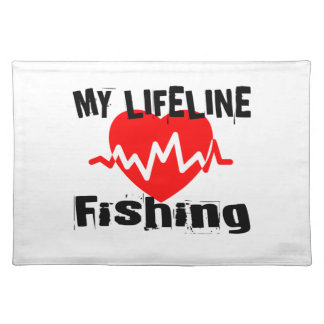 My Life Line Fishing Sports Designs Placemat