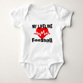 My Life Line Foosball Sports Designs Baby Bodysuit