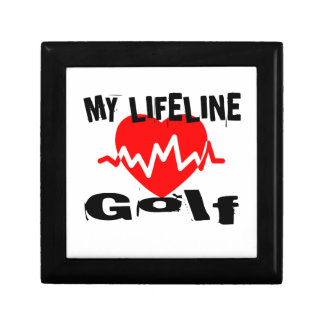My Life Line Golf Sports Designs Gift Box