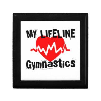 My Life Line Gymnastics Sports Designs Gift Box