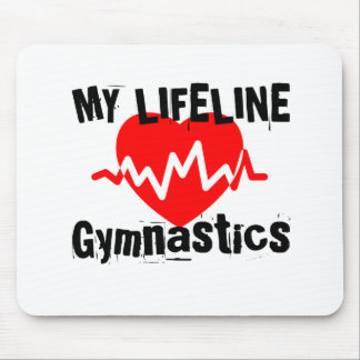 My Life Line Gymnastics Sports Designs Mouse Pad
