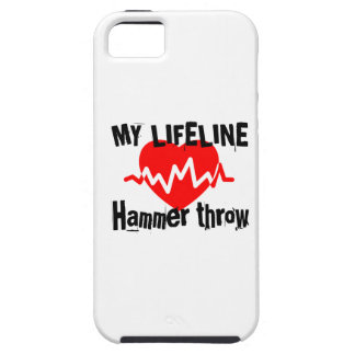 My Life Line Hammer throw Sports Designs iPhone 5 Case