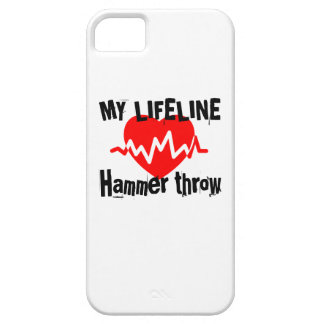 My Life Line Hammer throw Sports Designs iPhone 5 Covers