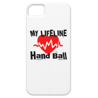 My Life Line Hand Ball Sports Designs Case For The iPhone 5