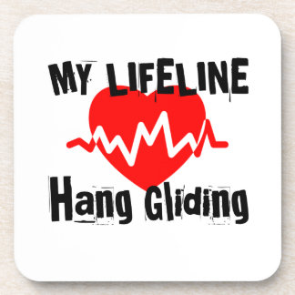 My Life Line Hang Gliding Sports Designs Coaster