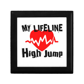 My Life Line High Jump Sports Designs Gift Box
