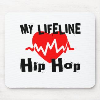 My Life Line Hip Hop Sports Designs Mouse Pad