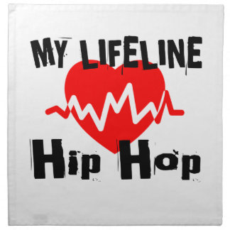 My Life Line Hip Hop Sports Designs Napkin