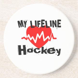 My Life Line Hockey Sports Designs Coaster