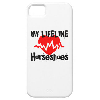 My Life Line Horseshoes Sports Designs iPhone 5 Cover