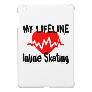 My Life Line Inline Skating Sports Designs Cover For The iPad Mini