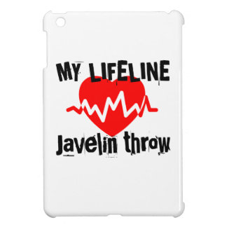 My Life Line Javelin throw Sports Designs Cover For The iPad Mini