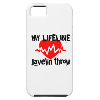 My Life Line Javelin throw Sports Designs iPhone 5 Case