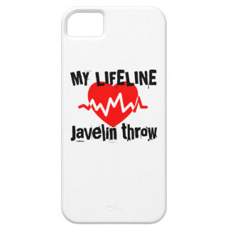My Life Line Javelin throw Sports Designs iPhone 5 Cover