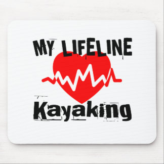 My Life Line Kayaking Sports Designs Mouse Pad
