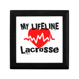 My Life Line Lacrosse Sports Designs Gift Box