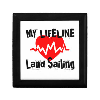 My Life Line Land Sailing Sports Designs Gift Box