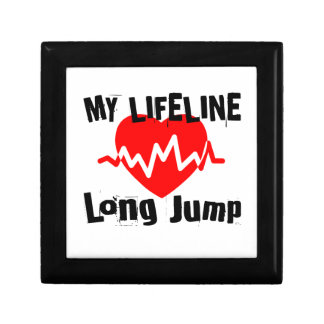 My Life Line Long Jump Sports Designs Gift Box