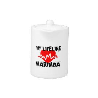 MY LIFE LINE MARIMBA MUSIC DESIGNS