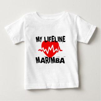 MY LIFE LINE MARIMBA MUSIC DESIGNS BABY T-Shirt