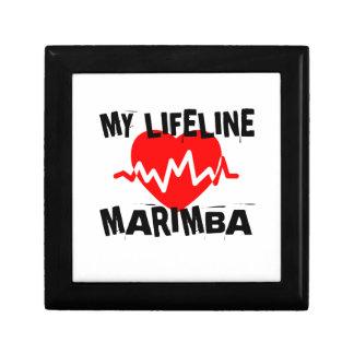 MY LIFE LINE MARIMBA MUSIC DESIGNS GIFT BOX
