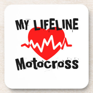 My Life Line Motocross Sports Designs Coaster