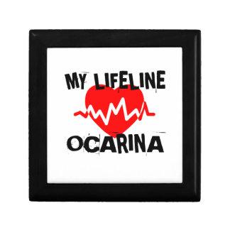 MY LIFE LINE OCARINA MUSIC DESIGNS GIFT BOX