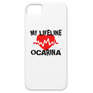 MY LIFE LINE OCARINA MUSIC DESIGNS iPhone 5 COVER
