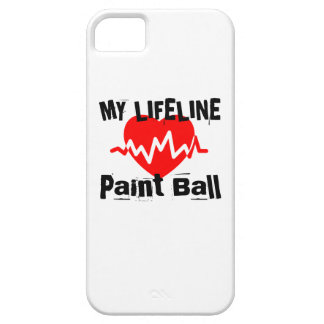 My Life Line Paint Ball Sports Designs Case For The iPhone 5