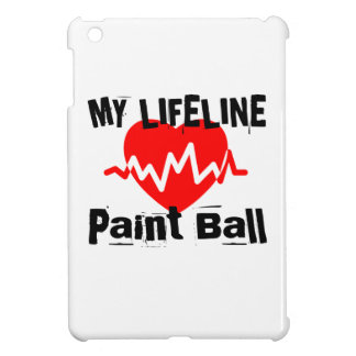 My Life Line Paint Ball Sports Designs Cover For The iPad Mini