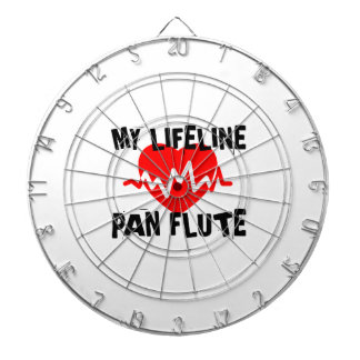 MY LIFE LINE PAN FLUTE MUSIC DESIGNS DARTBOARD