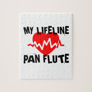 MY LIFE LINE PAN FLUTE MUSIC DESIGNS JIGSAW PUZZLE