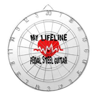 MY LIFE LINE PEDAL STEEL GUITAR MUSIC DESIGNS DARTBOARD