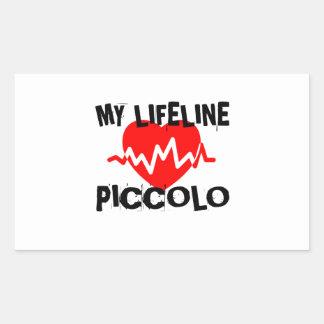 MY LIFE LINE PICCOLO MUSIC DESIGNS STICKER