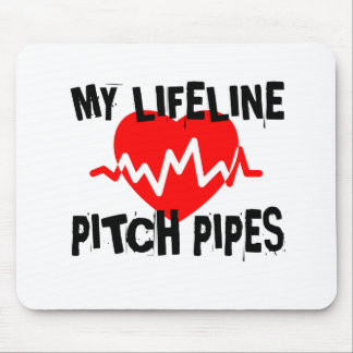 MY LIFE LINE PITCH PIPES MUSIC DESIGNS MOUSE PAD