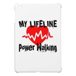 My Life Line Power Walking Sports Designs Case For The iPad Mini