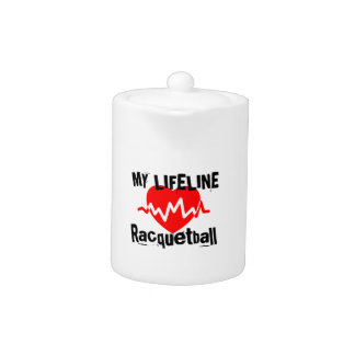 My Life Line Racquetball Sports Designs