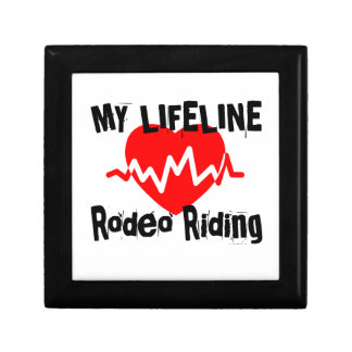 My Life Line Rodeo Riding Sports Designs Gift Box
