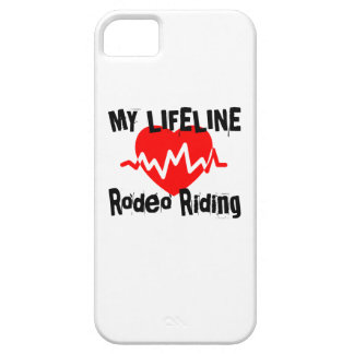 My Life Line Rodeo Riding Sports Designs iPhone 5 Case