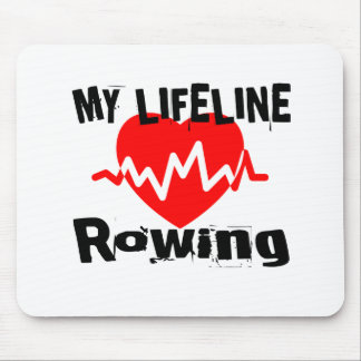 My Life Line Rowing Sports Designs Mouse Pad