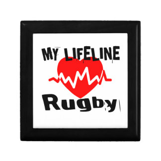 My Life Line Rugby Sports Designs Gift Box