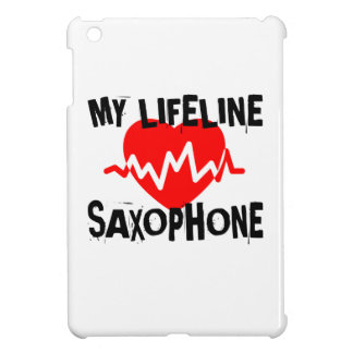 MY LIFE LINE SAXOPHONE MUSIC DESIGNS COVER FOR THE iPad MINI