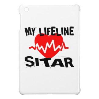 MY LIFE LINE SITAR MUSIC DESIGNS iPad MINI COVERS