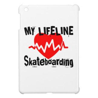 My Life Line Skateboarding Sports Designs iPad Mini Case